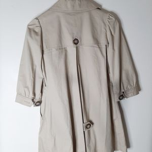 coasta blanca Jackets & Coats - Gorgeous 3/4 length sleeve trench coat